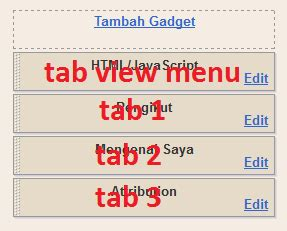 cara membuat menu dropdown tanpa edit html cara membuat menu tab view tanpa edit html update