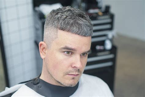 caesarean haircut mens short hairstyles for grey hair life style by