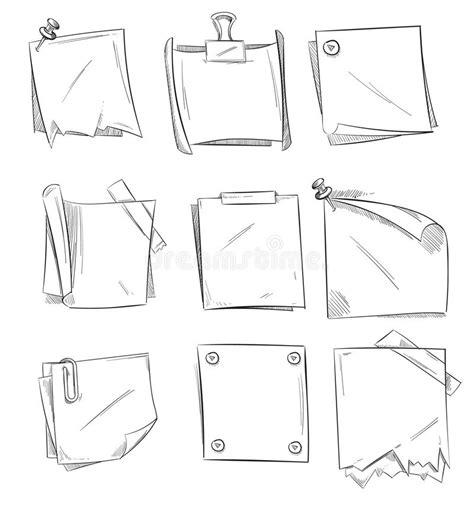 doodle sign up sheet doodle memo notepaper school sketch