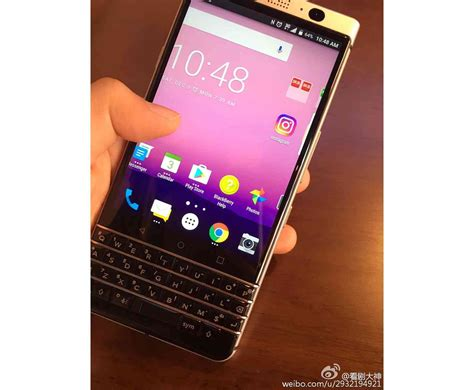 new blackberry android new blackberry android phone with physical keyboard reportedly shown in leaked photos phonedog