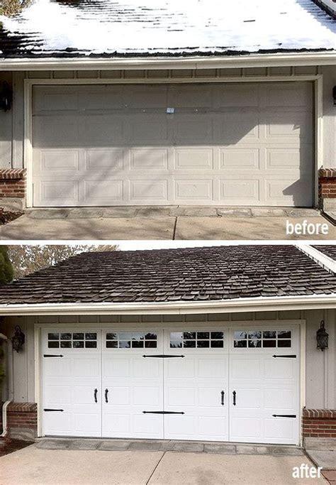 Garage Upgrades Best 25 Garage Door Makeover Ideas On