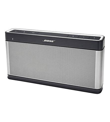 Bose Soundlink Bluetooth Speaker Iii bose soundlink bluetooth speaker iii selfridges