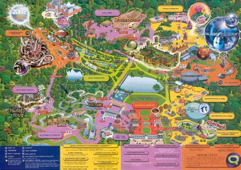 theme park uk map back from the dead theme park map day dc s