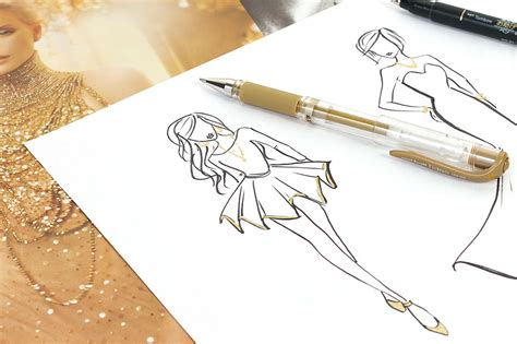 Metallic Ink Pen guide to metallic and glitter ink pens and markers