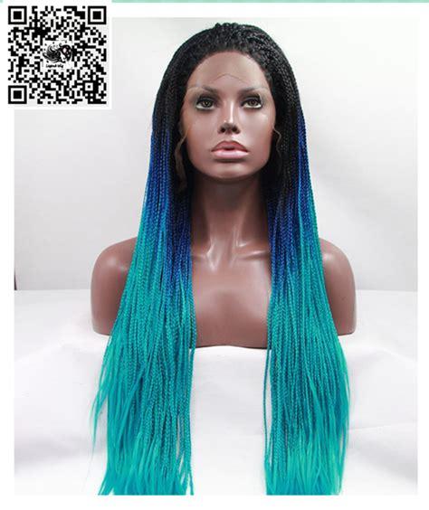 african american braided wig lace front wig secret legendwig box braide lace front wig sintetica black