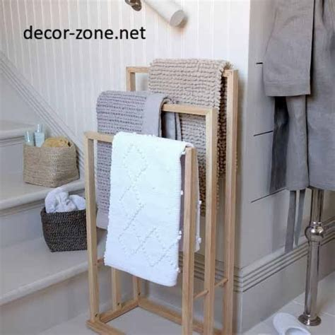 Ideas For Towel Racks In Bathrooms by Best 10 Bathroom Towel Storage Ideas For Small Bathrooms