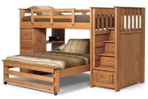 size bunk beds for 21 top wooden l shaped bunk beds with space saving features