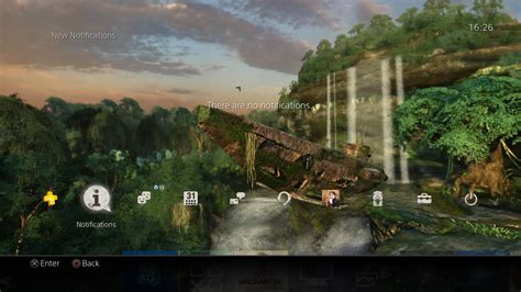 ps4 themes uncharted new uncharted drake s fortune ps4 dynamic theme looks