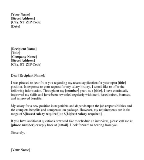 Pay Raise Demand Letter Photo Salary Increase Letter Template Images
