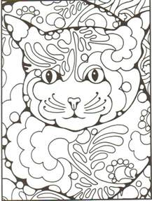 free zentangle coloring pages free coloring pages of zentangle animals