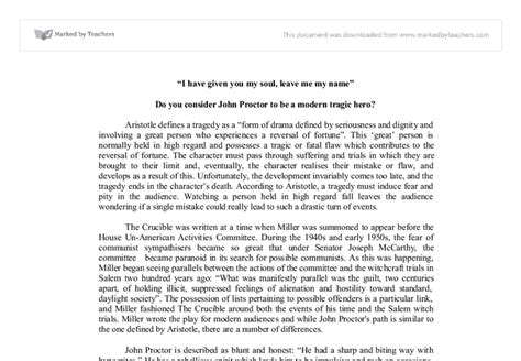 Proctor Tragic Essay by College Essays College Application Essays Proctor Tragic Essay