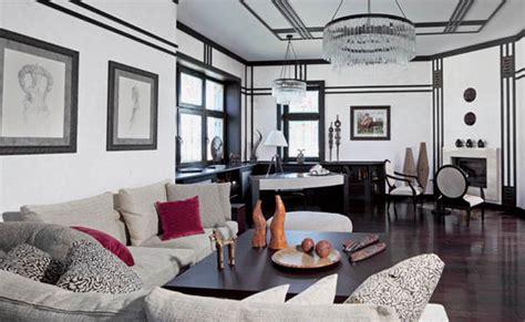 Nouveau Living Room by Stilul Nouveau In Viziunea Marilor Designeri De