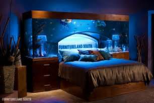 awesome aquarium bed lets you sleep with the fishes my