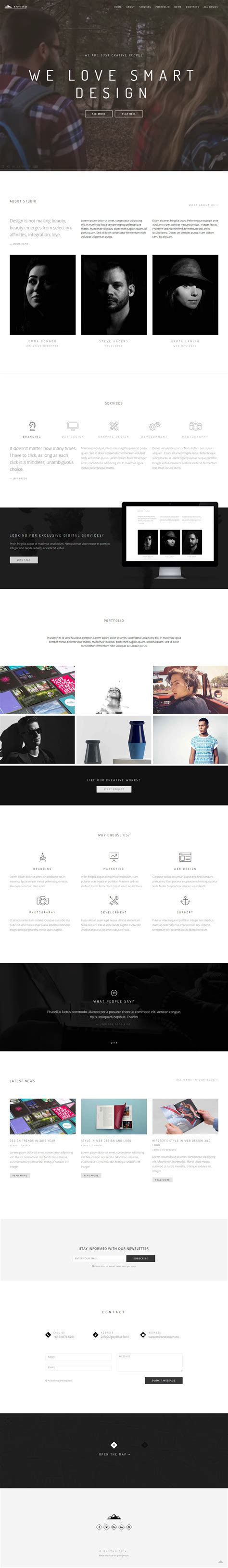 Drupal Theme With Background Image | 20 best drupal video background theme 2017 responsive