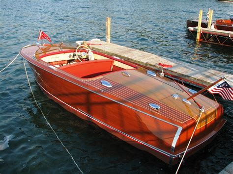 on a boat ride respect do classic chris craft rivieras get the respect they