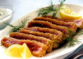 come cucinare i tonnetti freschi ricetta filetto di tonno fresco tranci in crosta di