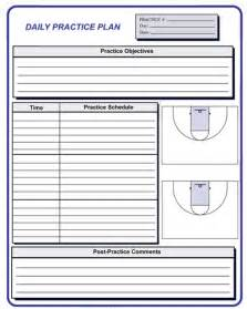 practice plan template basketball basketball coaching forms