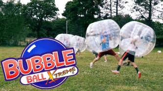 Bubble ball extreme soccer new york youtube