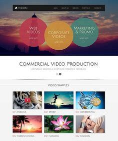 website templates for video production company best web templates on pinterest website template