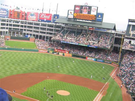 texas rangers ballpark map panoramio photo of texas rangers stadium
