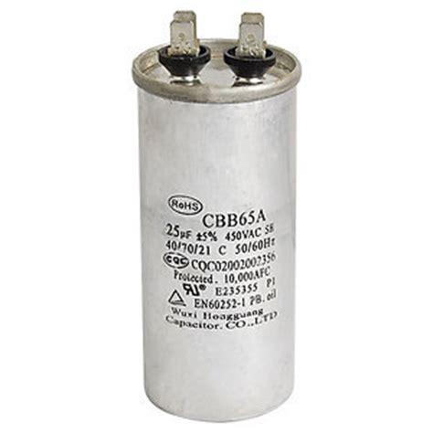 capacitor single phase motor ac 450v 25uf single phase motor run capacitor for generators jpg