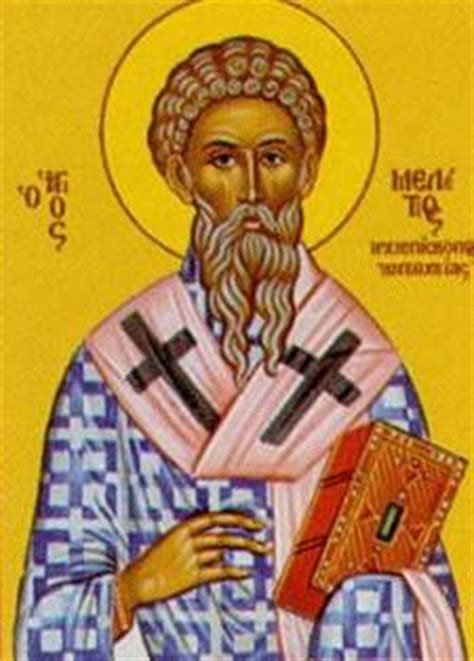st. meletius of antioch saints & angels catholic online