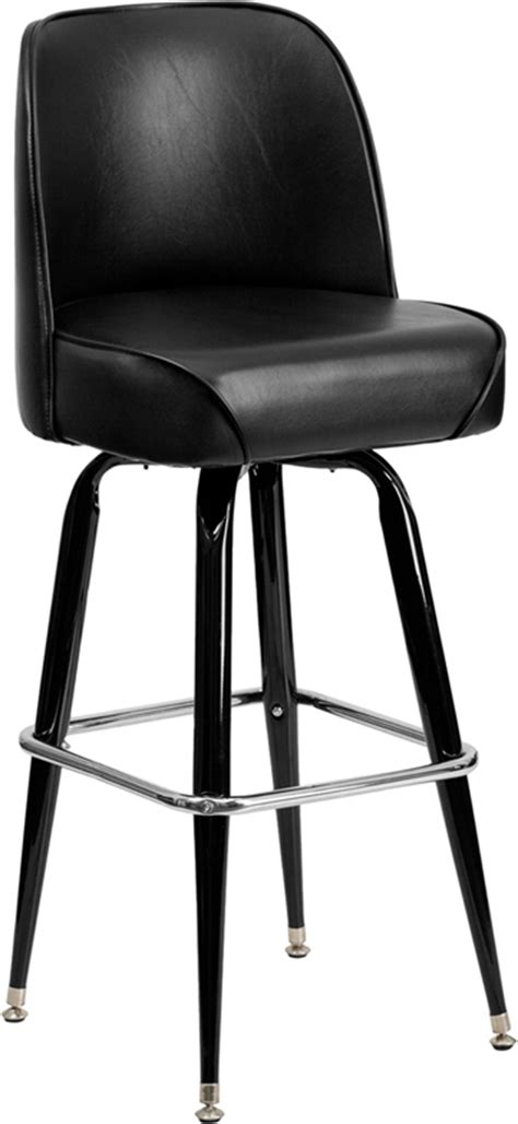 bar stools restaurant supply metal bar stool with swivel bucket seat bfdh 26781 stool