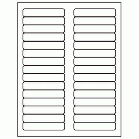 hanging folder tab template avery 5266 file folder labels