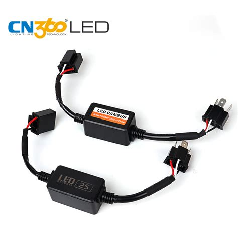 how to stop radio interference from led lights cn360 s1 s2 n1 n2 led headl can bus error free decoder