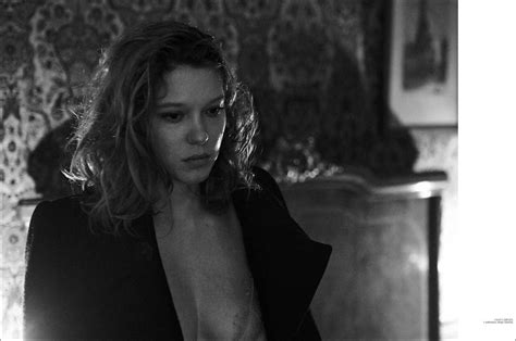 lea seydoux interview lea seydoux by peter lindbergh for interview magazine