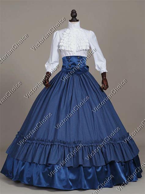 a simple s victorian dress from new look pattern a6319 the pragmatic costumer civil war victorian 3pc old west ball gown reenactment tartan dress costume