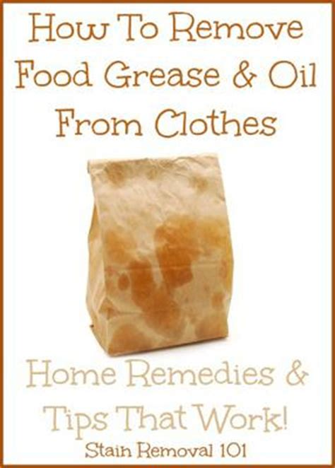 How To Put Out A Grease In The Kitchen by How To Remove Grease From Clothes Home Remedies Tips
