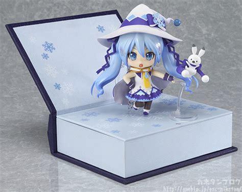 Sale Nendoroid Snow Miku Magical Snow Murah crunchyroll nendoroid snow miku has the prettiest stand