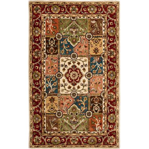 safavieh heritage accent rug in red multi hg926a 2 safavieh heritage multi red 5 ft x 8 ft area rug hg925a