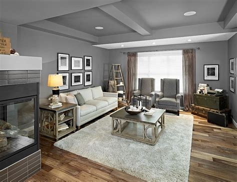 gray walls living room stepping it up in style 50 ladder shelves and display ideas
