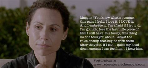 zero film quotes return to zero quote from maggie baby loss grief