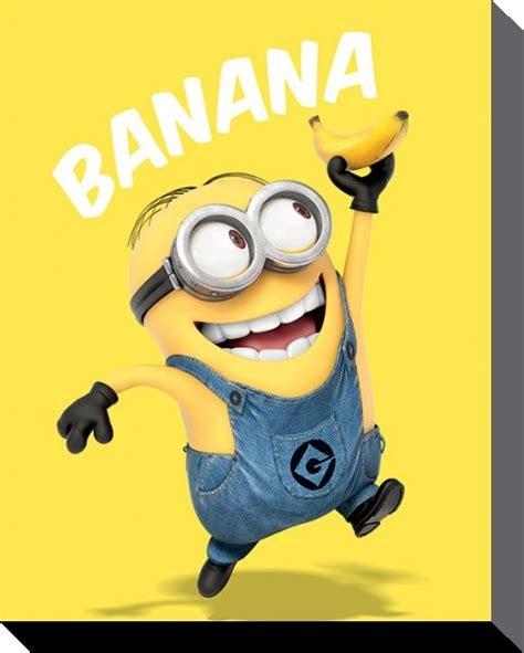 Poster Despicable Me 3 Original One Sheet 69 X 100 Cm canvas print minions despicable me banana sold at europosters eu