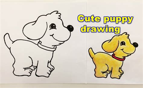 How To Draw A Puppy Step By Step