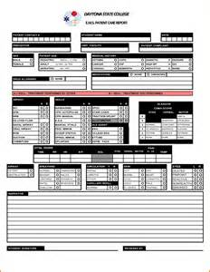 Patient Care Report Template by 4 Patient Care Report Template Expense Report
