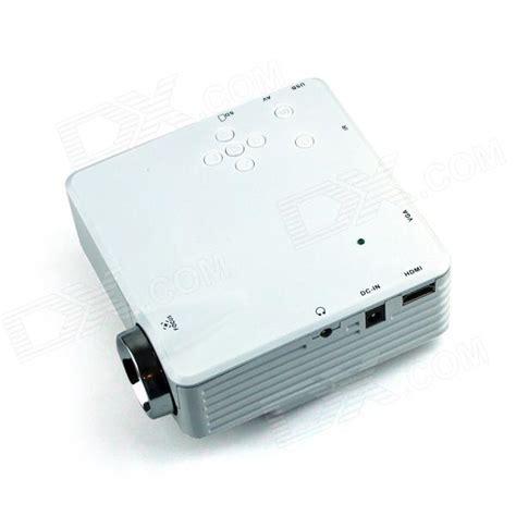 Proyektor Gp7s moonsun gp7s mini hd1080p led projector w hdmi vga usb sd white free shipping