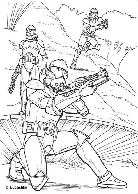 clone soldiers running coloring pages hellokids com