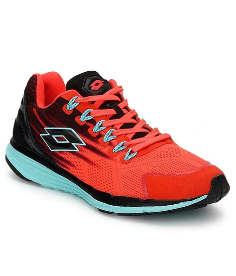 lotto sport shoes lotto windride orange sports shoes price in india buy