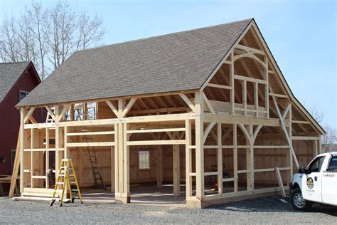 building process post and beam barns the barn yard