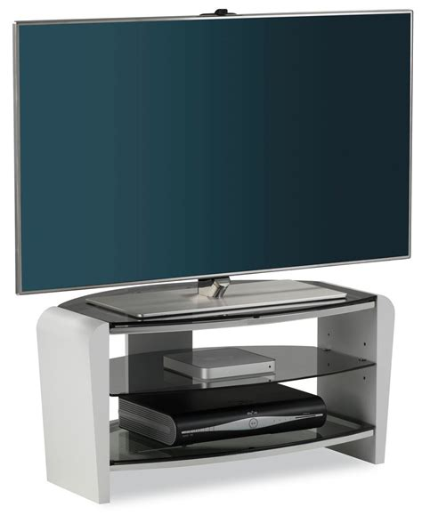 """Alphason Francium White TV Stand for up to 37"""" TVs"""