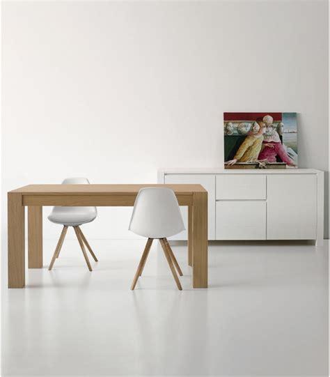 tavolo in rovere naturale tavolo allungabile in legno rovere naturale spazzolato