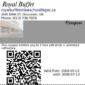 Coupons Of Royal Buffet 2446 Bank St Royal Buffet Coupon