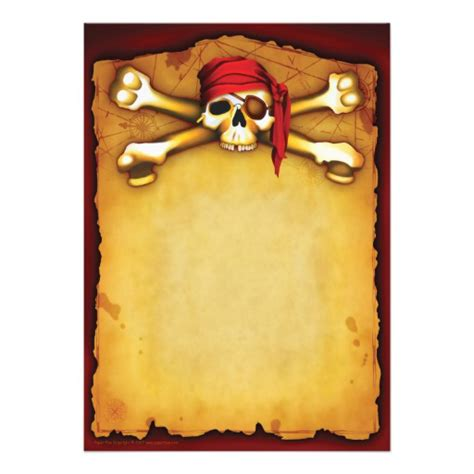 9 best images of free printable pirate templates pirate