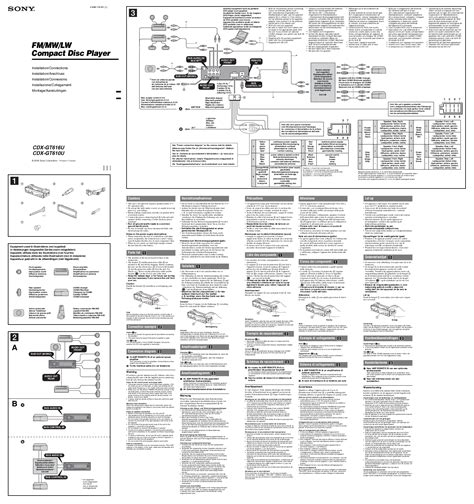 sony xplod cdx gt180 wiring diagram sony xplod cdx gt180