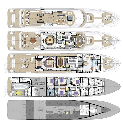 yacht floor plans super yacht floor plans pictures