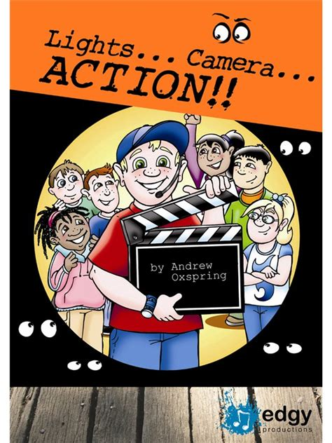 lights camera action song sheet music andrew oxspring lights camera action